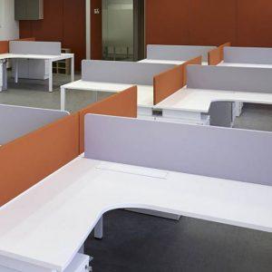 Paneles separadores ofita for Separadores de oficina