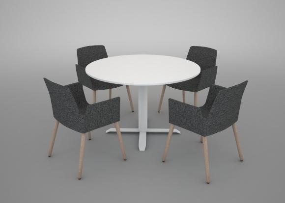 mesa redonda sala reuniones