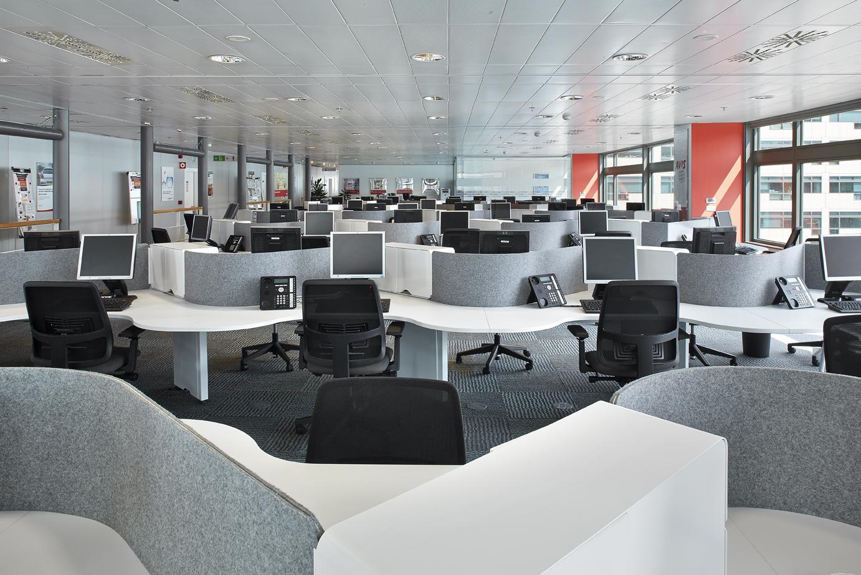 Diseño operativo del espacio de oficina