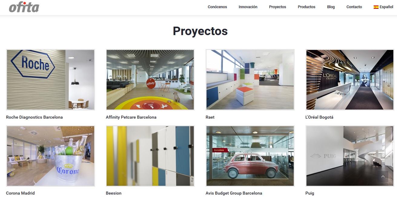 Home nueva web de Ofita