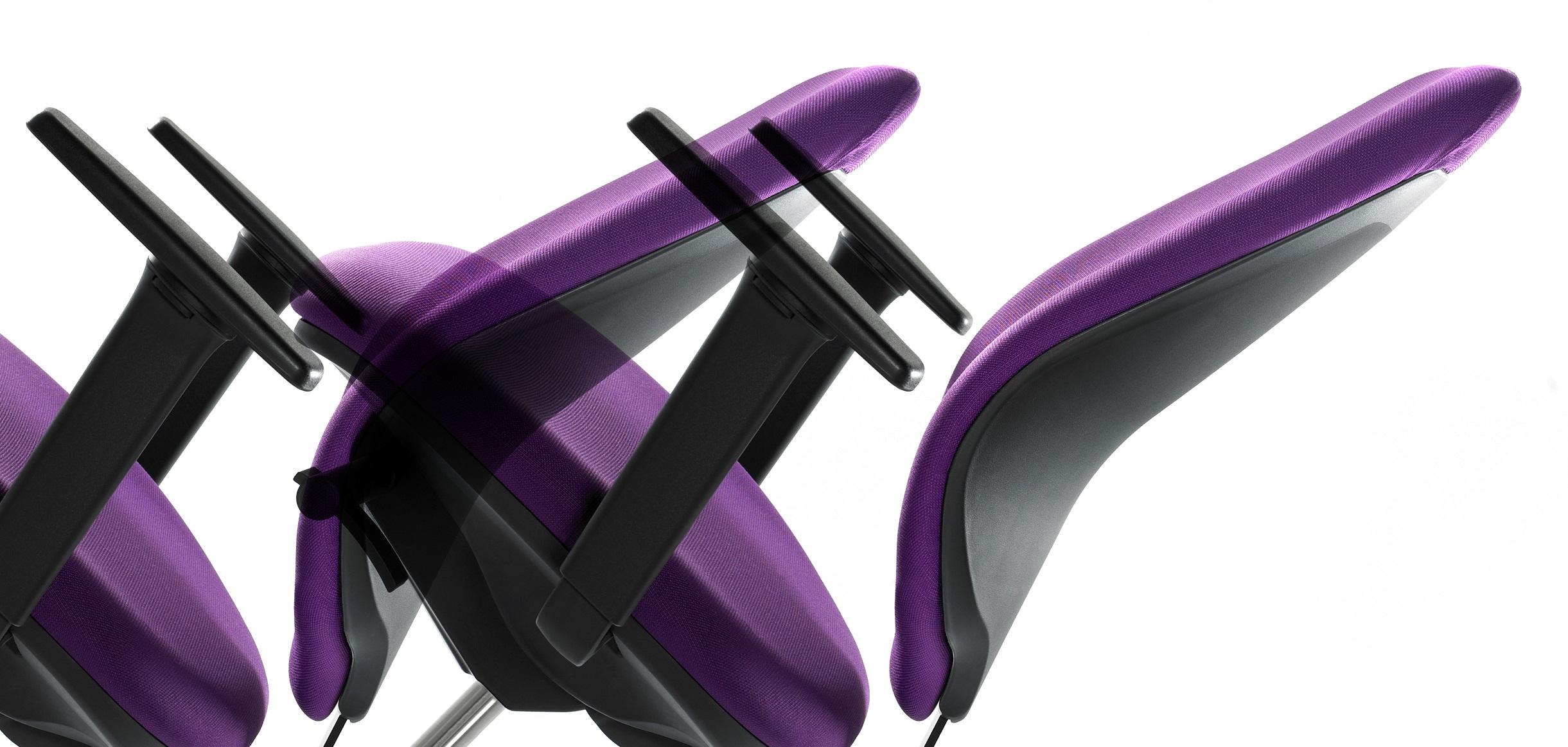 Sillas ergonómicas en la oficina