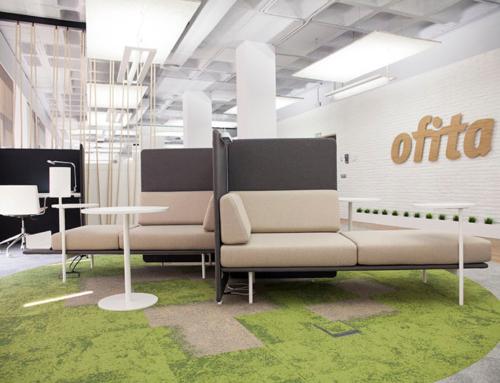 Ofita reconçoit son showroom et ses bureaux de Madrid