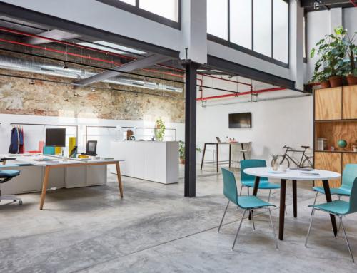 El color en la oficina, un aliado para fomentar el bienestar y la comunicación de marca