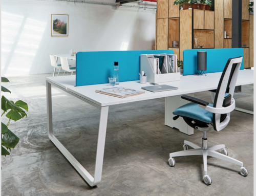 What is the importance of a good design of furniture in the work space?