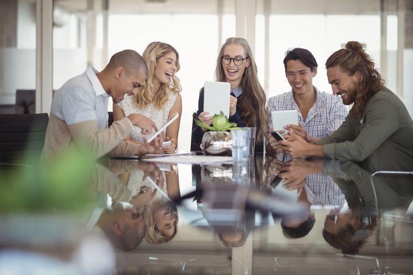 Cuatro Generaciones en el mismo espacio de trabajo