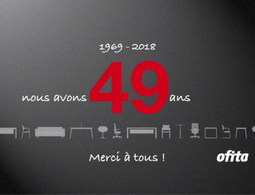 Anniversaire Ofita – Nous avons 49 ans, merci à tous !