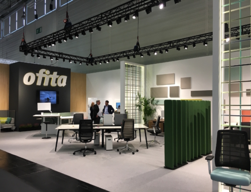 Ofita présente à Orgatec 2018 ses dernières créations pour les espaces de bureaux