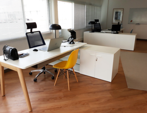 Ofita meuble en France les bureaux de Codeactive, avec Versa Natura