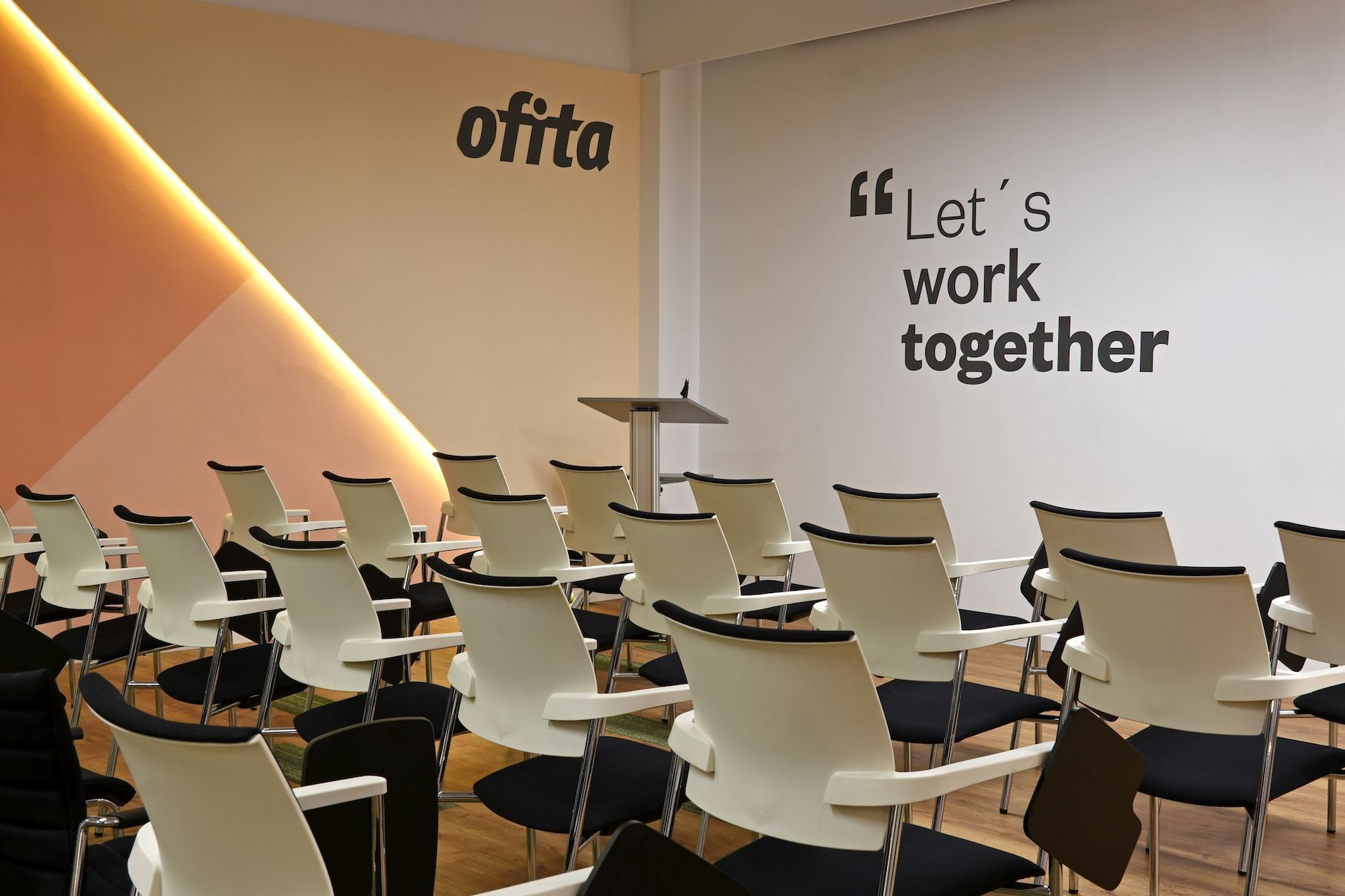 Showroom de Ofita en Madrid
