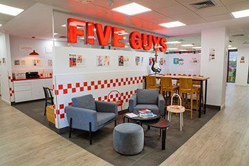 Proyecto Five Guys Madrid