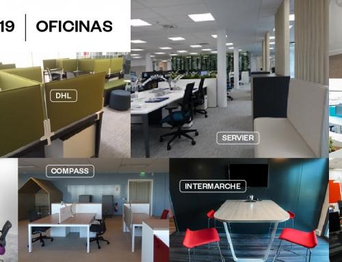 Proyectos Ofita 2019, oficinas personalizadas para grandes instalaciones