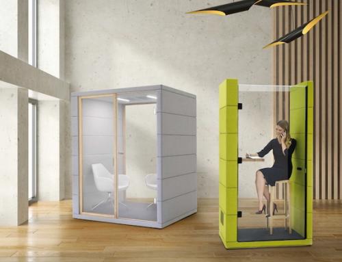 Cabinas acústicas: un nuevo concepto de privacidad que rediseña el open space