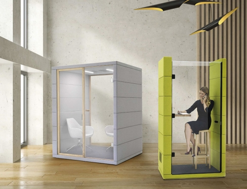 Acoustic cabins: a new privacy concept that redesigns open space