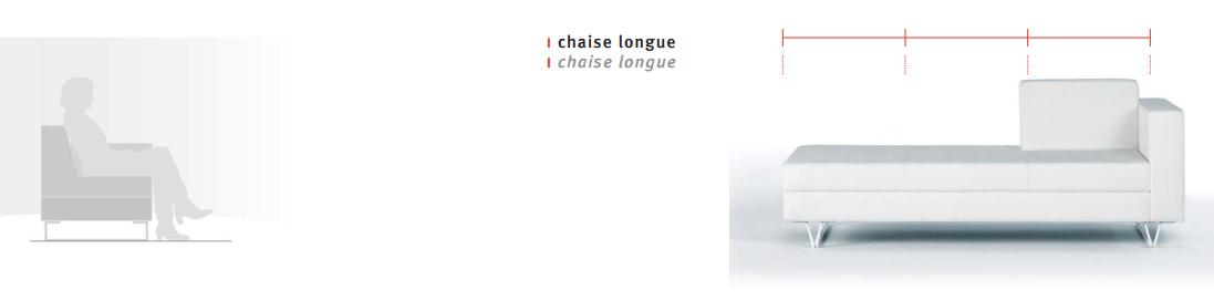 Chaisle Longue Ofita blanca