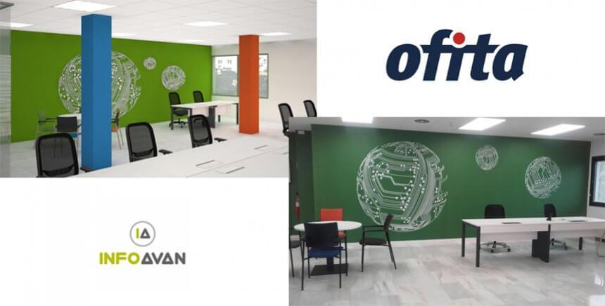 Precioso espacio 3D de Ofita para INFOAVAN