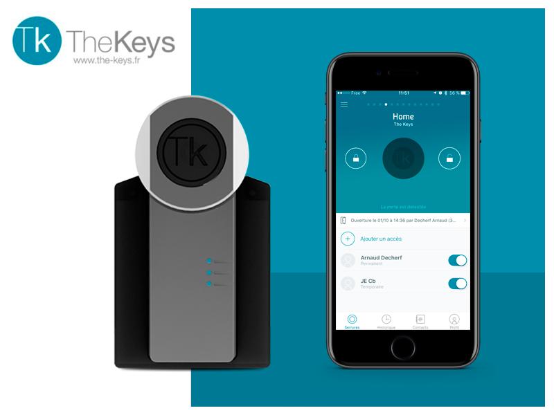 The Keys: la cerradura conectada que controla el acceso a tu oficina y a tu hogar